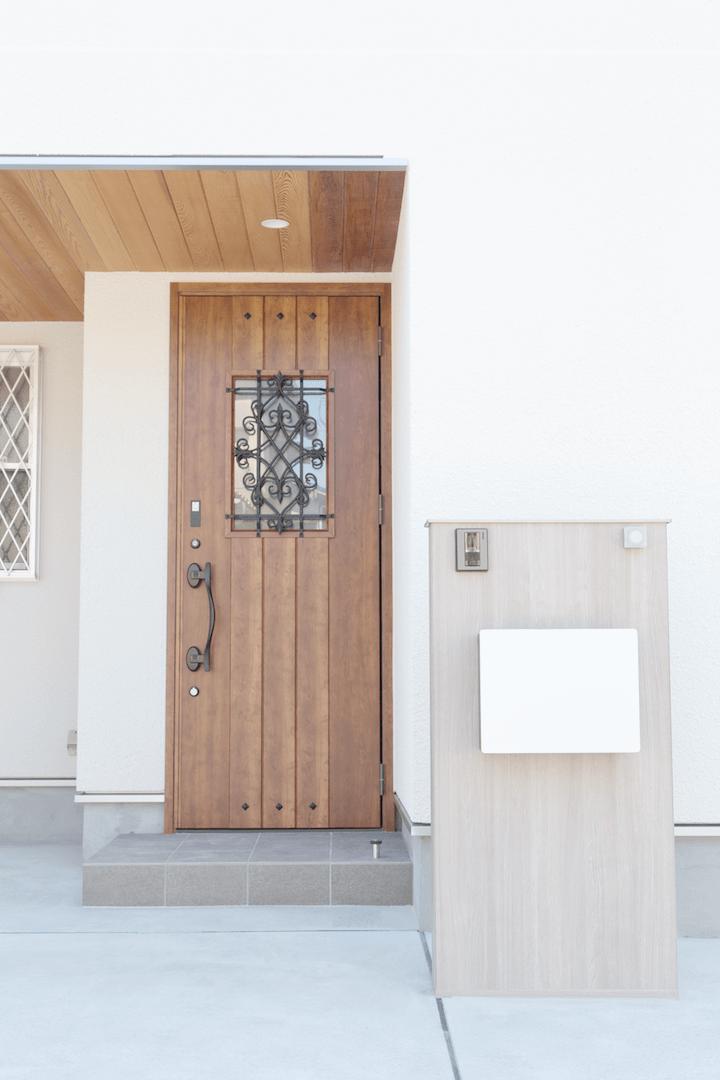 新築 豊中市 外観 ドア1