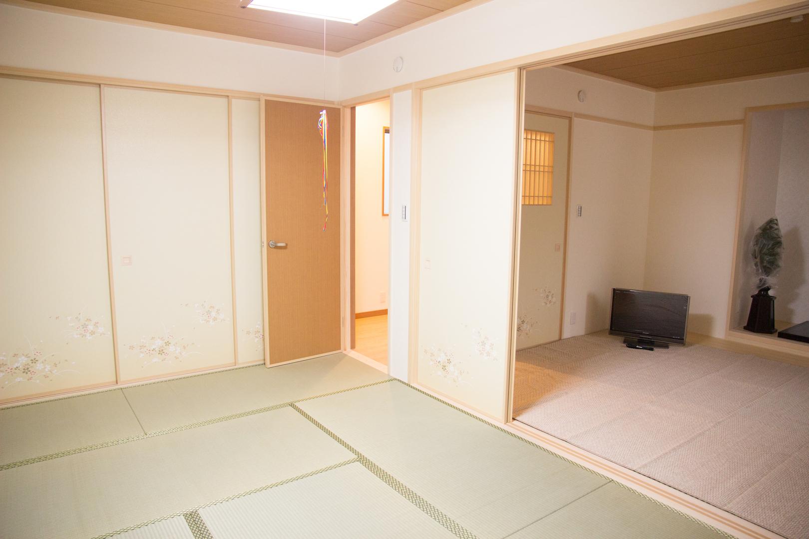 上野工務店 茨木市 建替 新築 大阪 和室