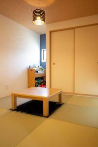 上野工務店,新築,和室,小上がり