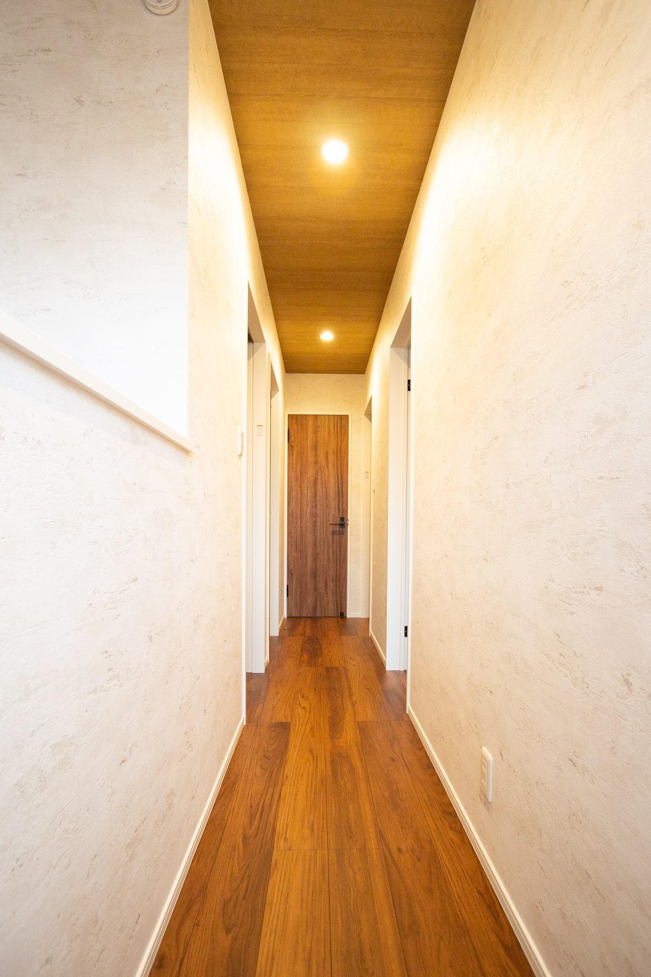 新築 豊中市 内観 階段 2F廊下