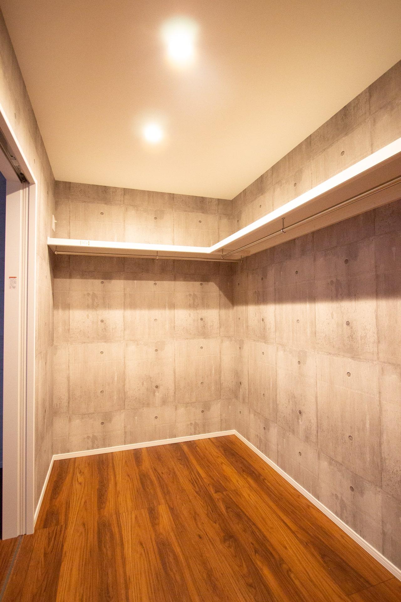 新築 豊中市 内観 階段 2F居室 ウォークインクローゼット