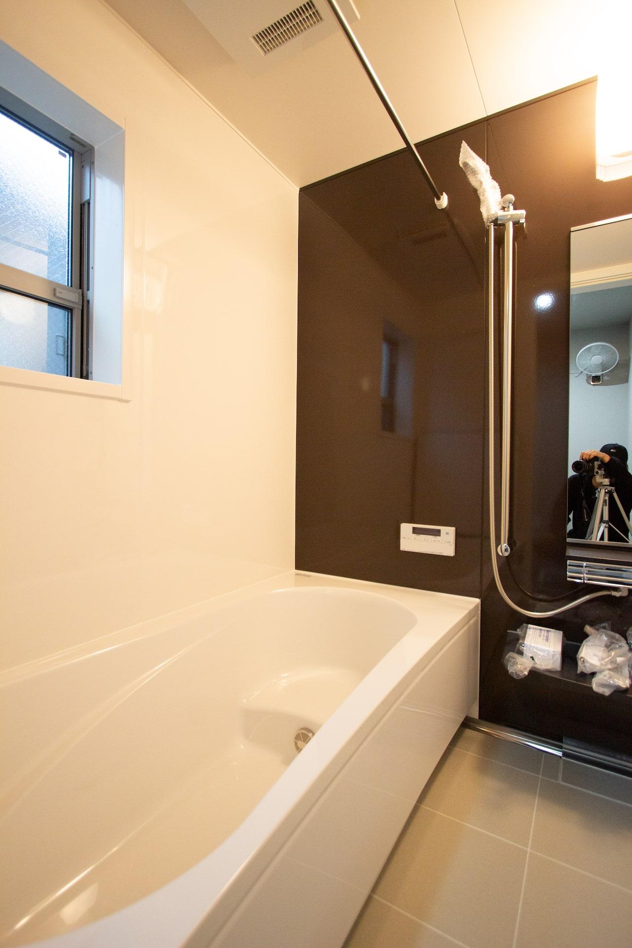 上野工務店,茨木市,建替,新築,浴室