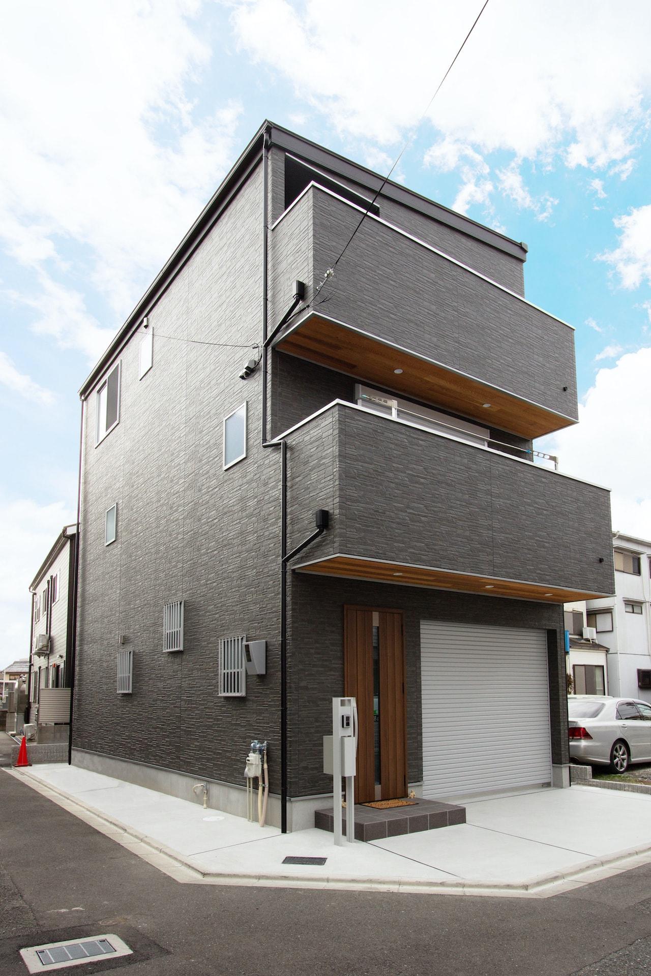 上野工務店,新築,寝屋川市,外観