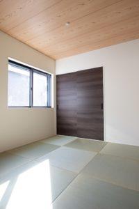 上野工務店,新築,内観,茨木市,自社施工,和室