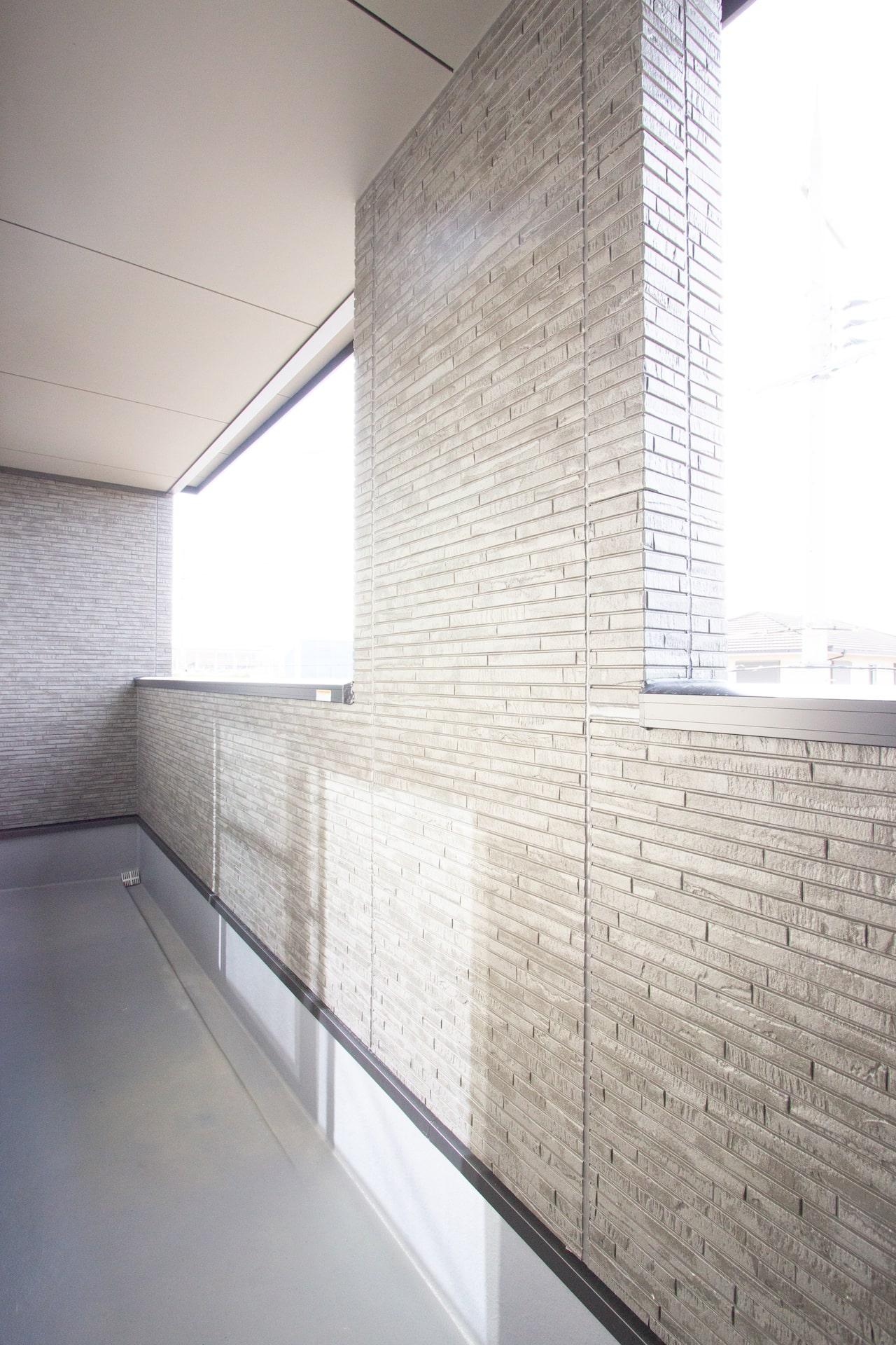 上野工務店,新築,内観,茨木市,自社施工,バルコニー