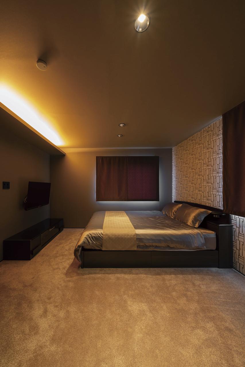 上野工務店,新築,内観,寝室