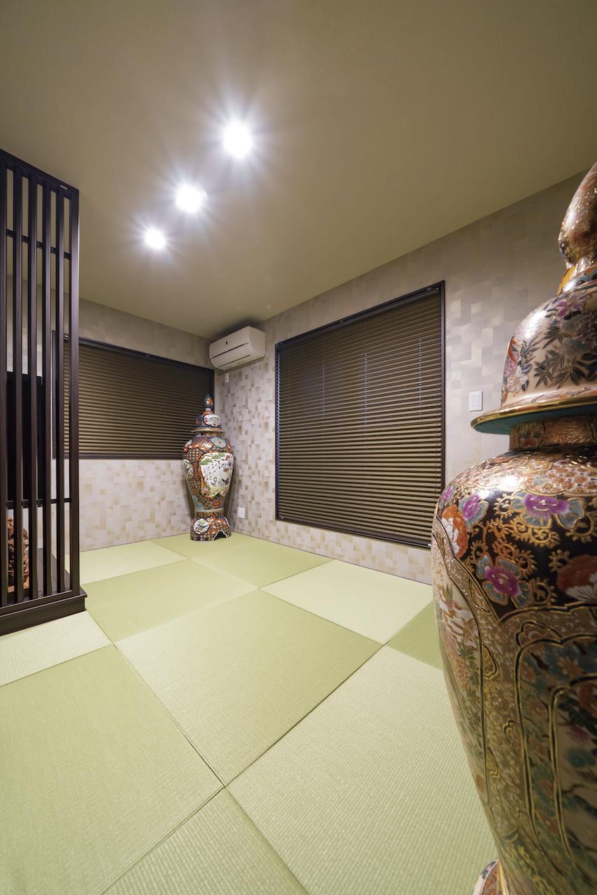 上野工務店,新築,内観,和室