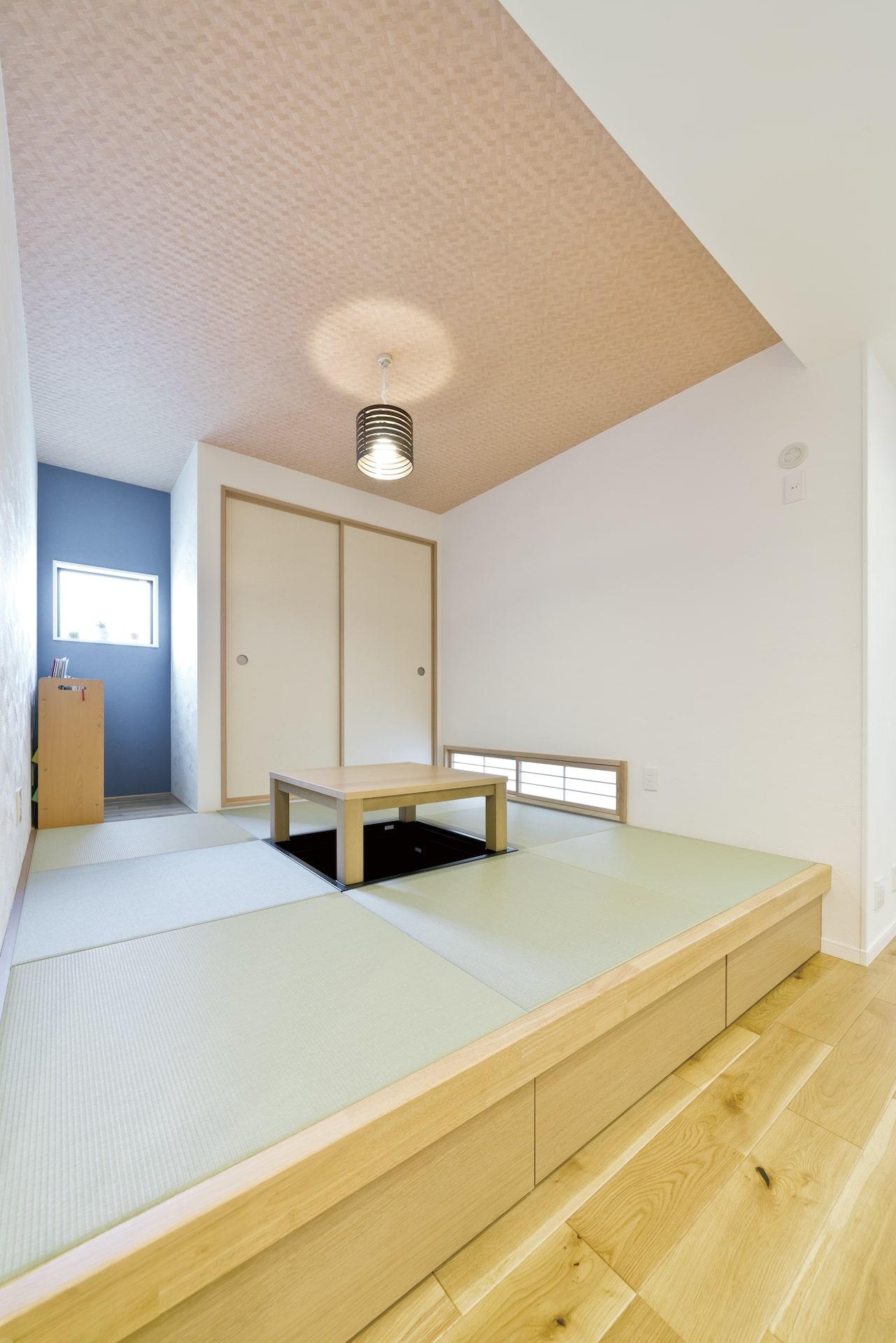 寝屋川市,新築戸建,注文住宅,土地探し,上野工務店,リビング,和室