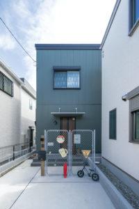 上野工務店,新築,茨木市,自社施工,外観