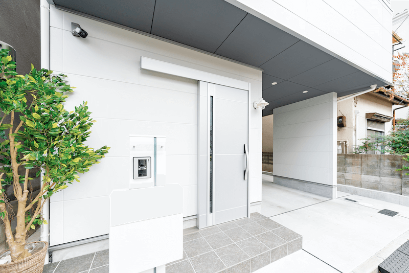 上野工務店,新築,内観,茨木市,自社施工,外観