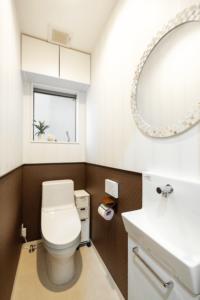 上野工務店,新築,内観,トイレ