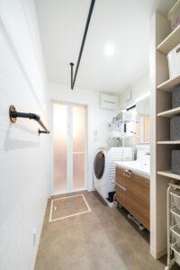 上野工務店,新築,茨木市,洗面所