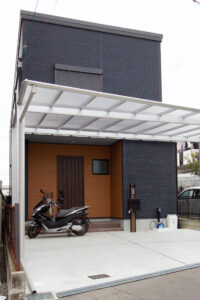 上野工務店,新築,枚方市,外観