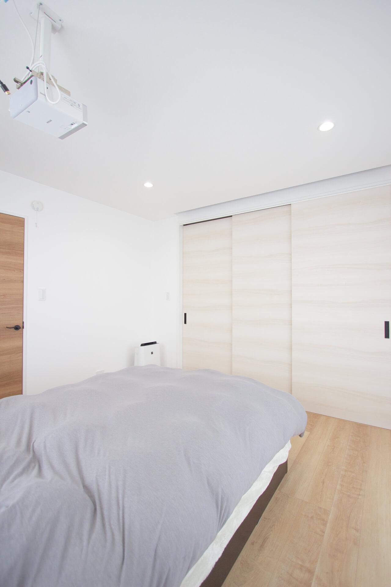 上野工務店,新築,枚方市,寝室