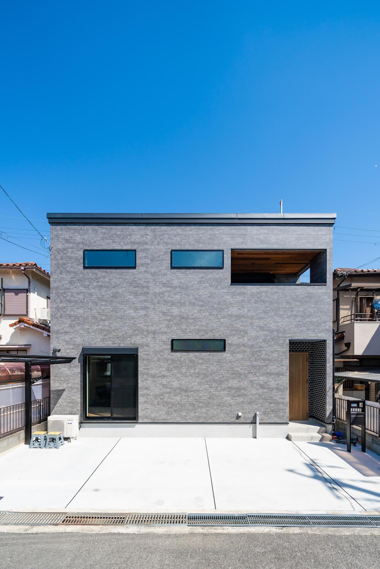 上野工務店,新築,茨木市,外観