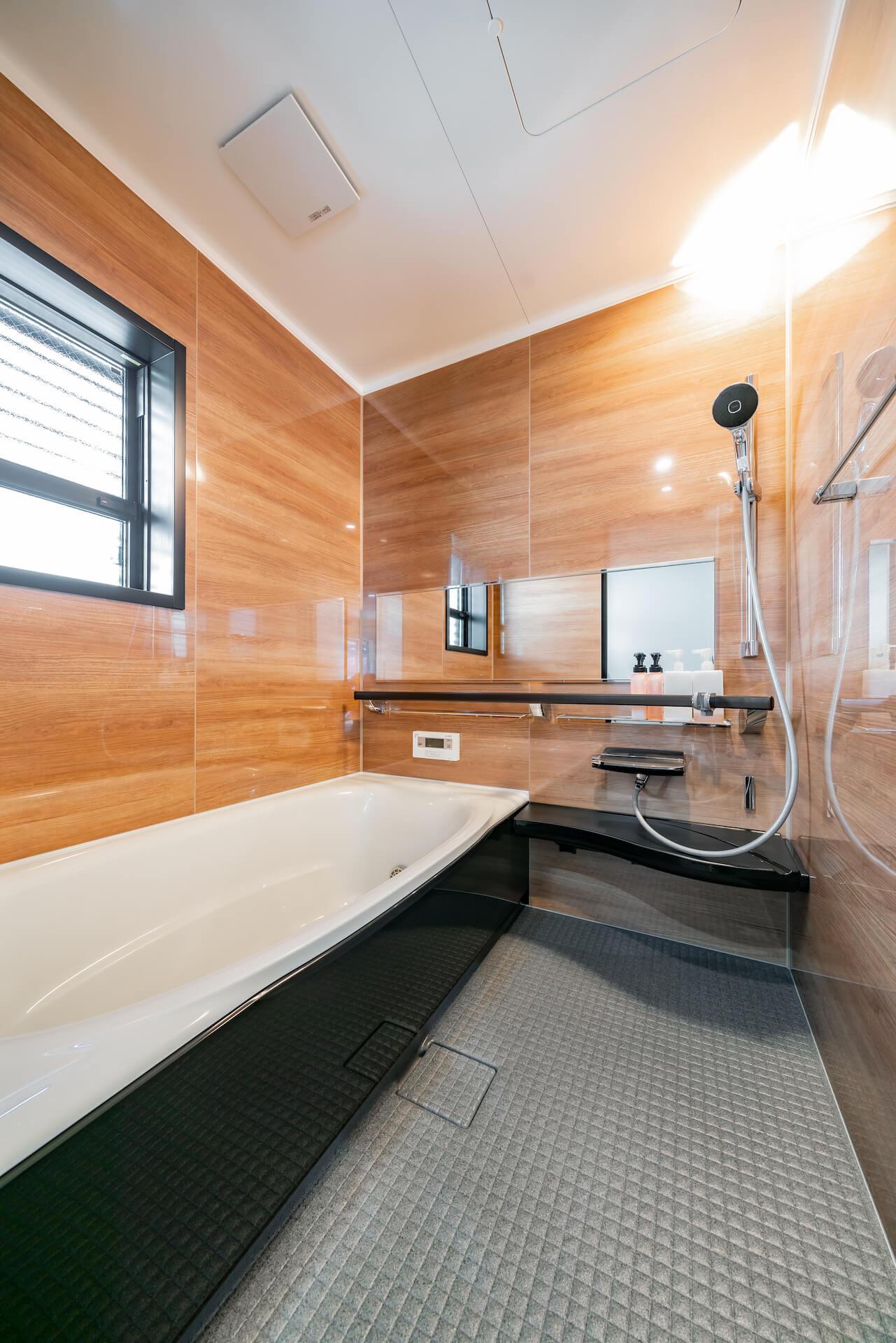 上野工務店,新築,茨木市,浴室