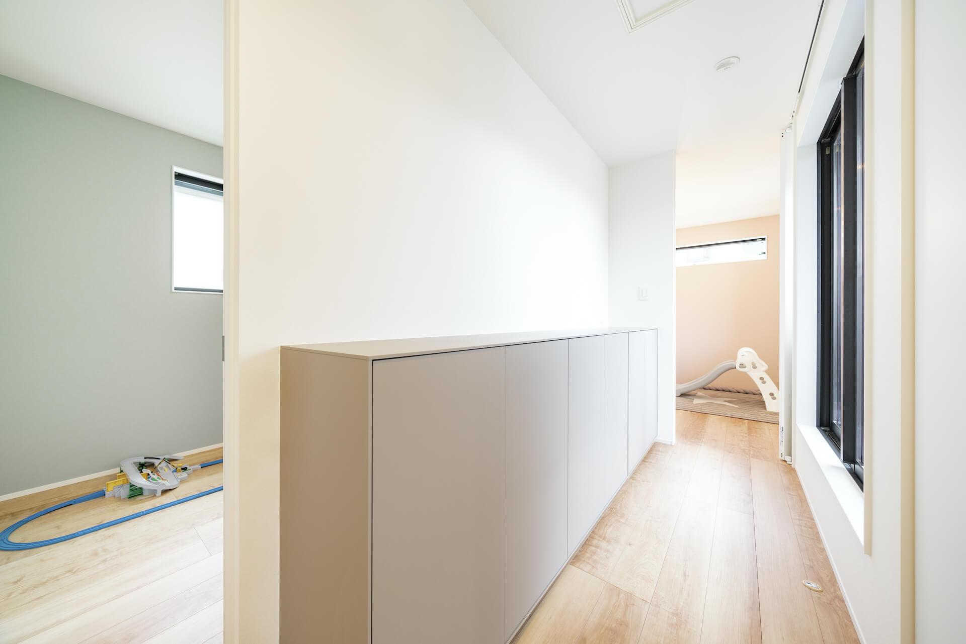 上野工務店,新築,居室,自社施工