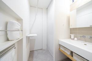 上野工務店,新築,洗面,茨木市,自社施工