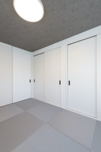 上野工務店,新築,和室,茨木市,自社施工